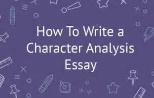 Write thesis statement characterization